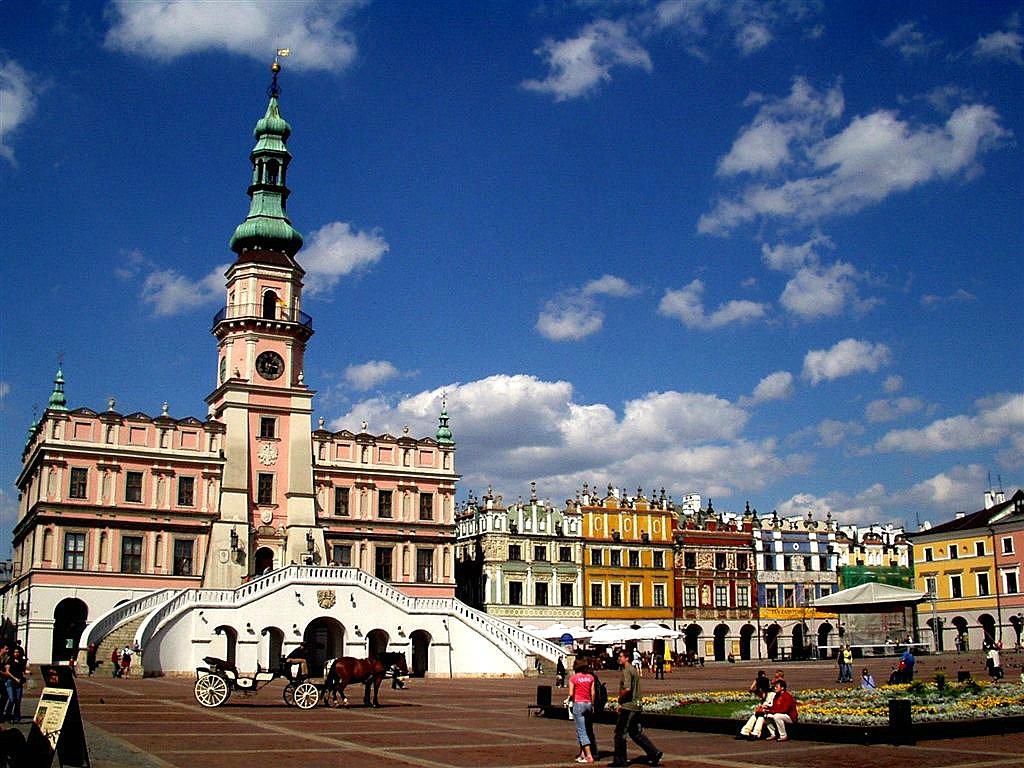Zamosc Poland  City pictures : Cracow, Gdansk, Torun, Warsaw, Wroclaw, Zamosc