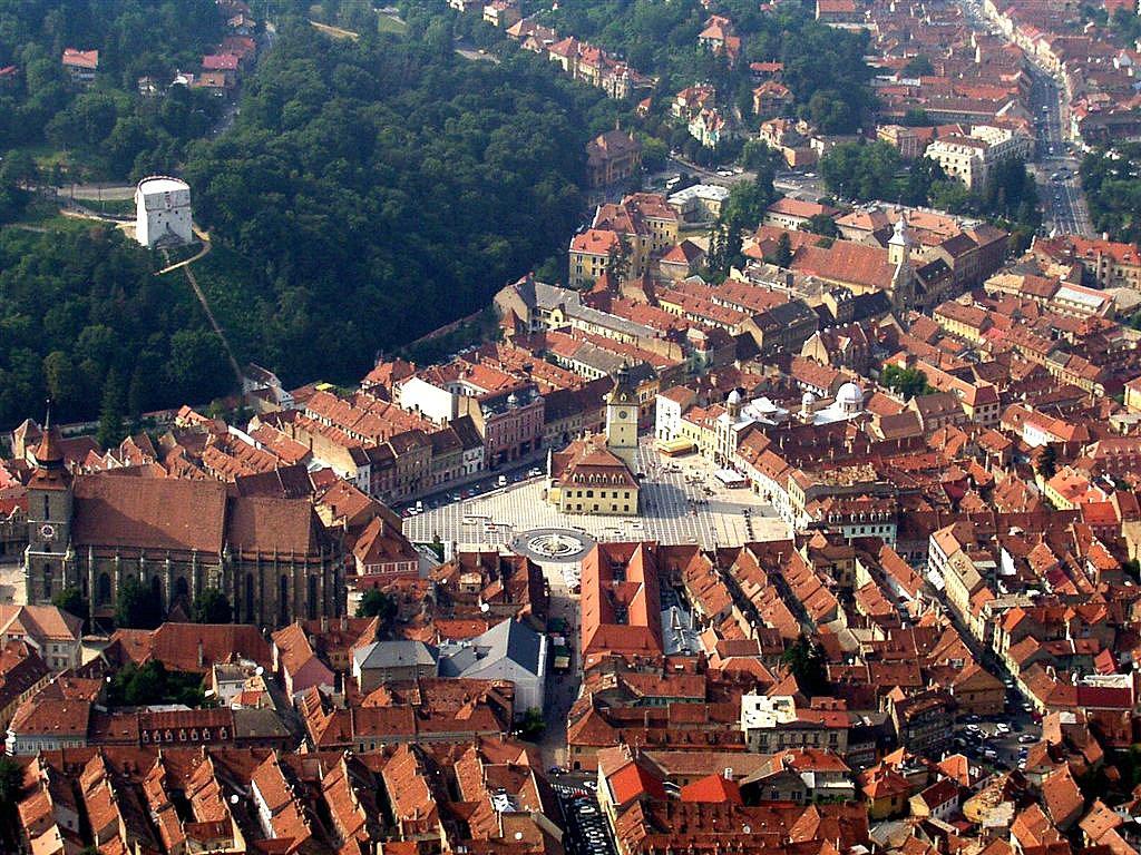 Brasov Romania  city photos : Vedere de sus a centrului Brasovului